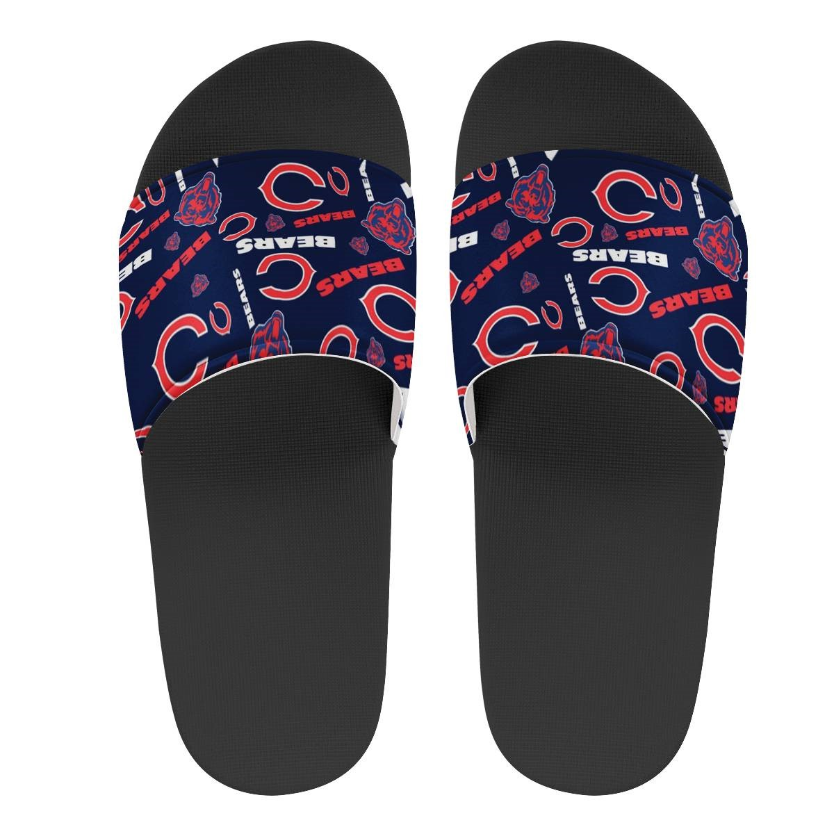 Youth Chicago Bears Flip Flops 002