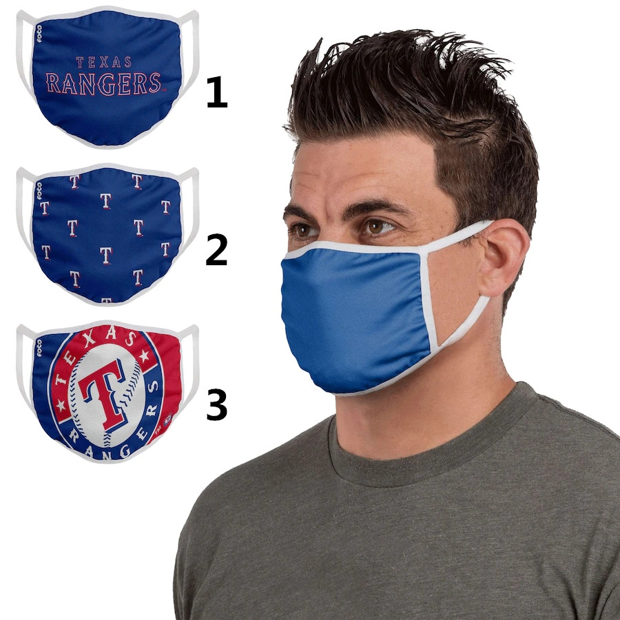 Texas Rangers Sports Face Mask 001 Filter Pm2.5 (Pls check description for details)