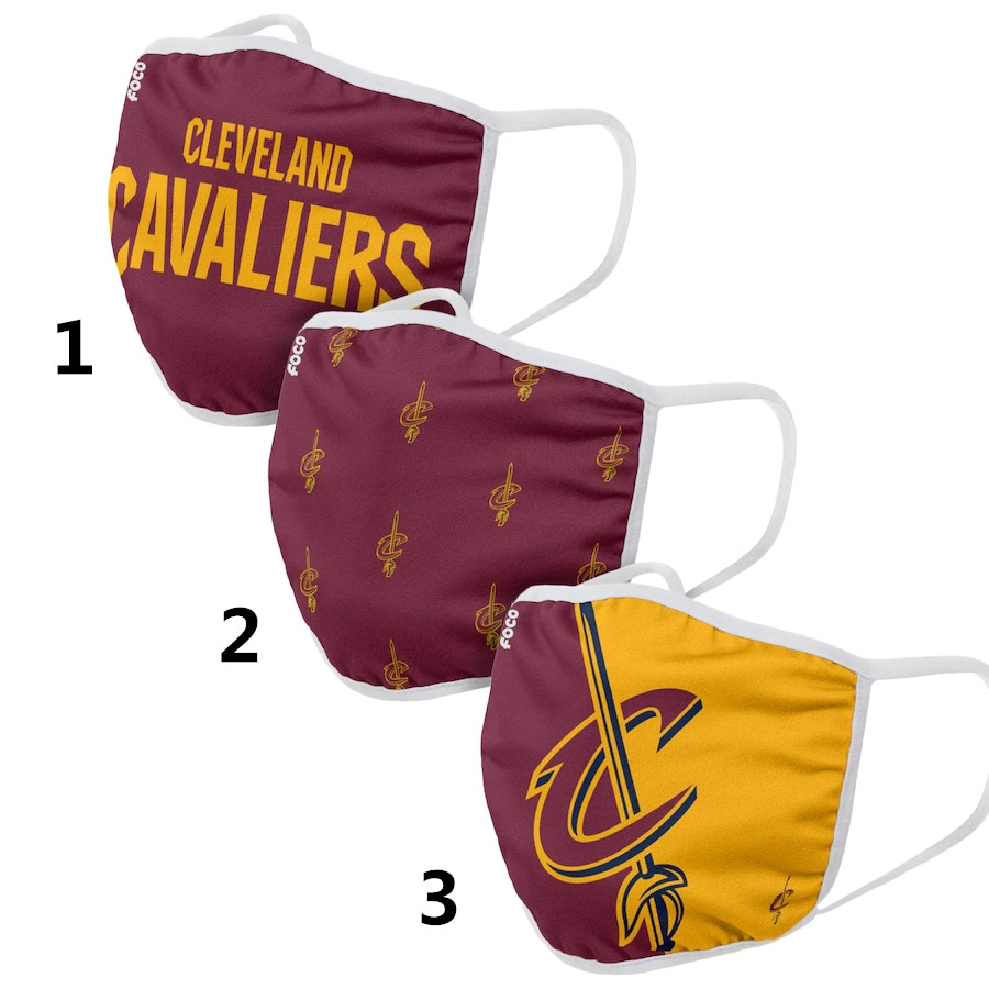 Cleveland Cavaliers Sports Face Mask 001 Filter Pm2.5 (Pls check description for details)