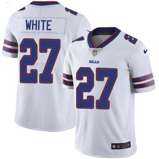 Men's Buffalo Bills #27 Tredavious White Vapor Untouchable Limited Stitched NFL Jersey