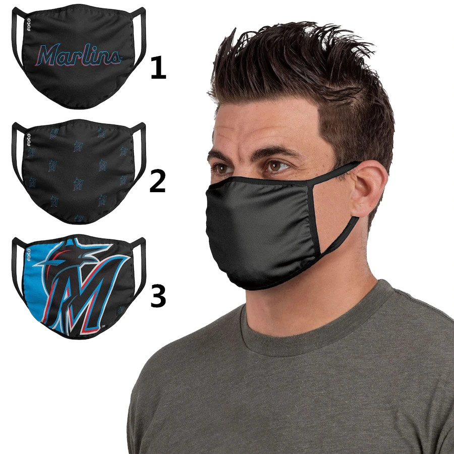 Miami Marlins Sports Face Mask 001 Filter Pm2.5 (Pls check description for details)