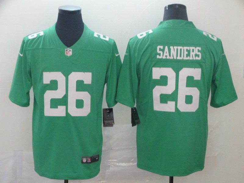 Men's Philadelphia Eagles #26 Miles Sanders Green 2019 City Edition Limited Stitched NFL Jersey