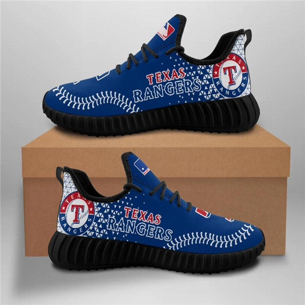 Women's Texas Rangers Mesh Knit Sneakers/Shoes 003