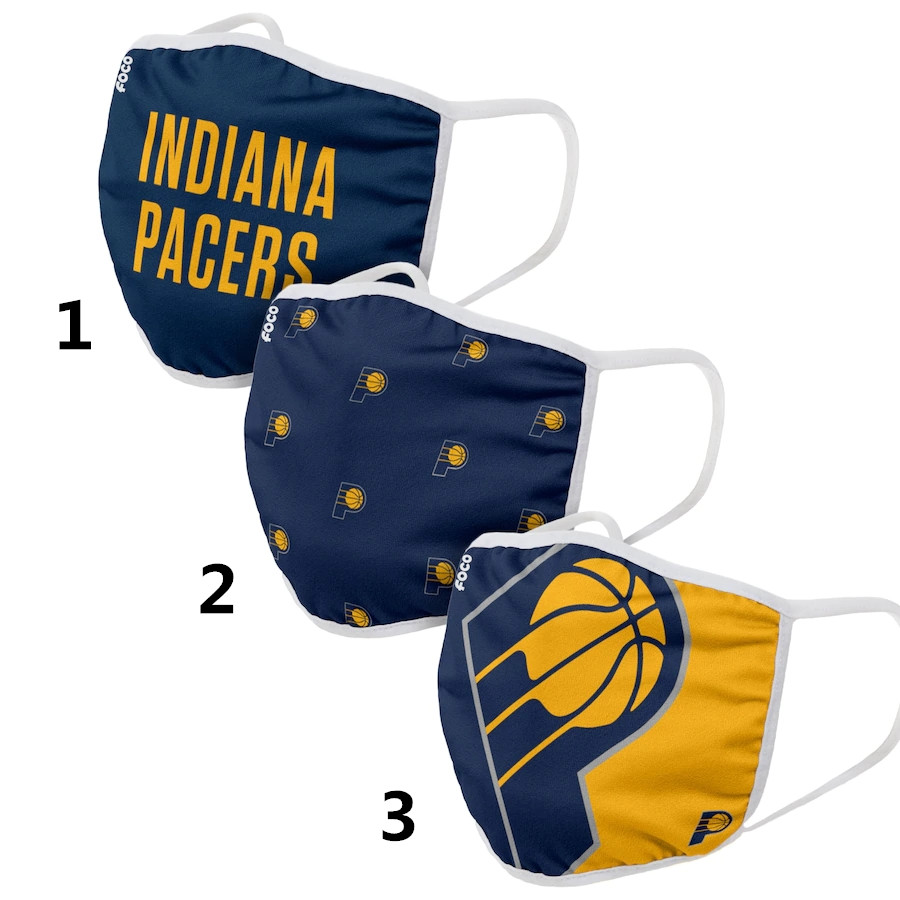 Indiana Pacers Sports Face Mask 001 Filter Pm2.5 (Pls check description for details)
