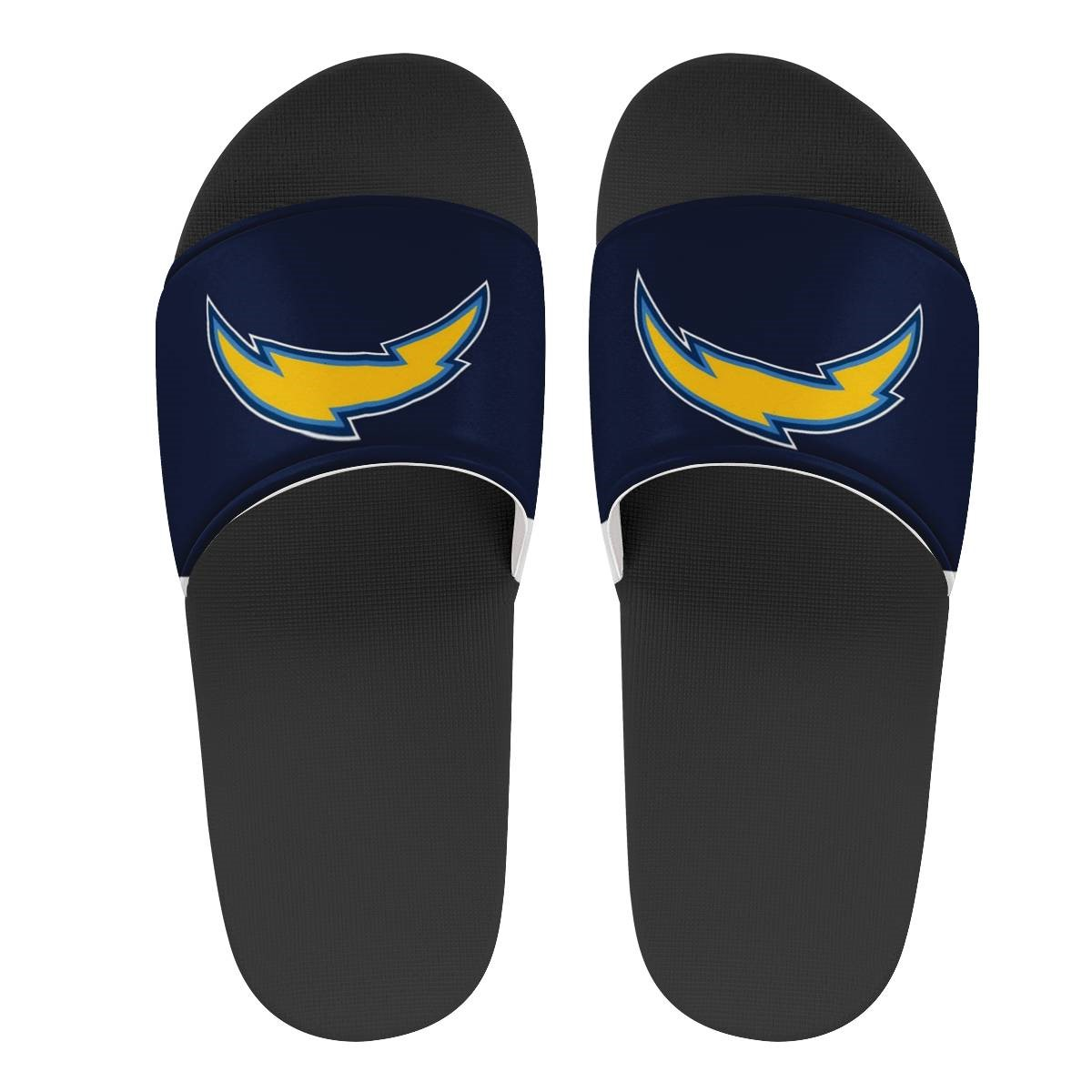 Youth Los Angeles Chargers Flip Flops 002