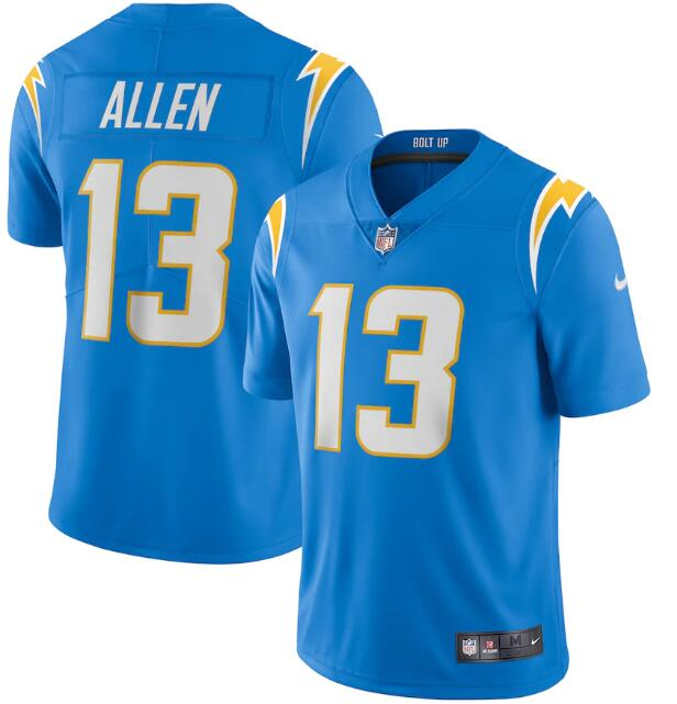 Men's Los Angeles Chargers #13 Keenan Allen 2020 Blue Vapor Untouchable Limited Stitched NFL Jersey