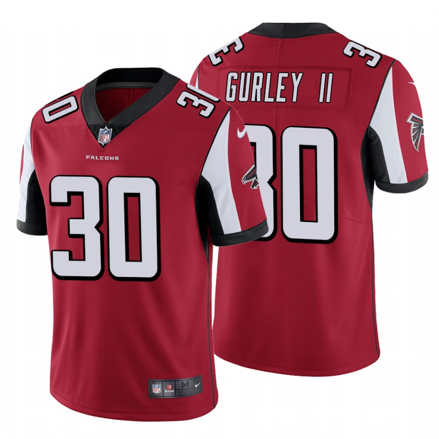 Men's Atlanta Falcons #30 Todd Gurley II Red Vapor Untouchable Limited Stitched NFL Jersey