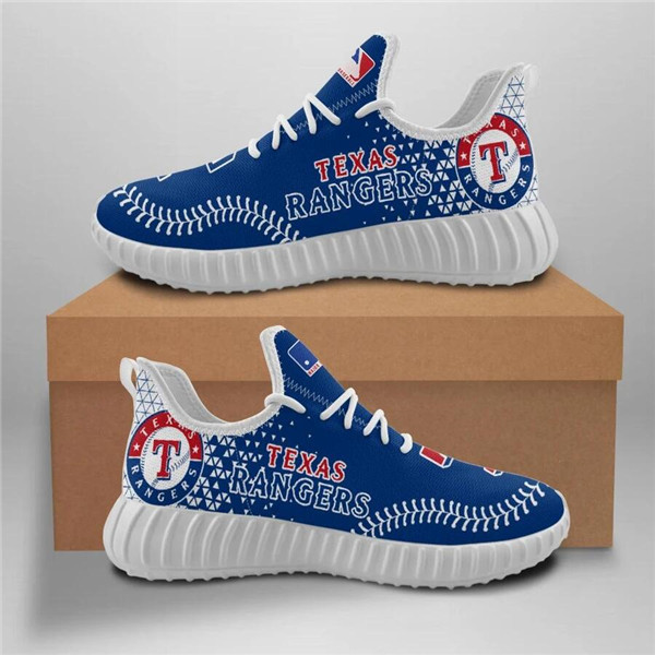 Women's Texas Rangers Mesh Knit Sneakers/Shoes 004