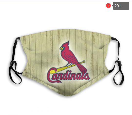 St.Louis Cardinals Face Mask 001 Filter Pm2.5 (Pls check description for details)