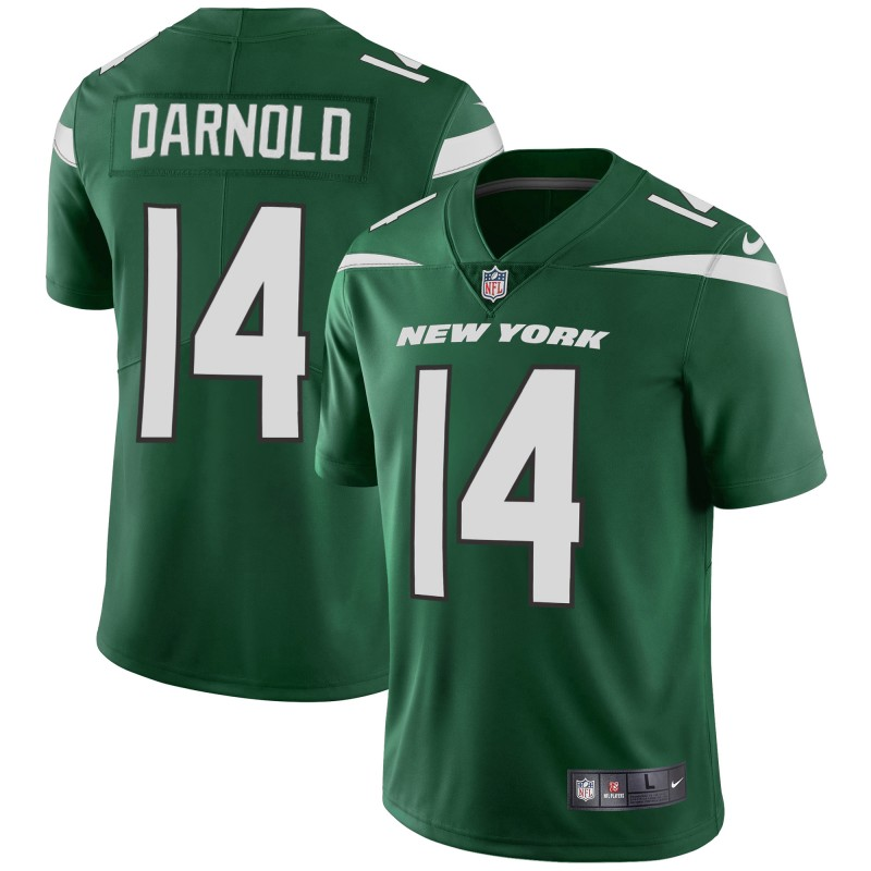Men's New York Jets #14 Sam Darnold 2019 Green Vapor Untouchable Limited Stitched NFL Jersey