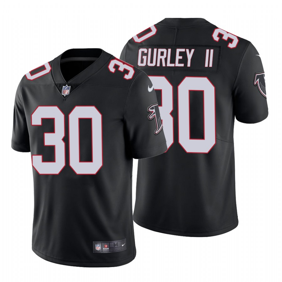 Men's Atlanta Falcons #30 Todd Gurley II Black Vapor Untouchable Limited Stitched NFL Jersey