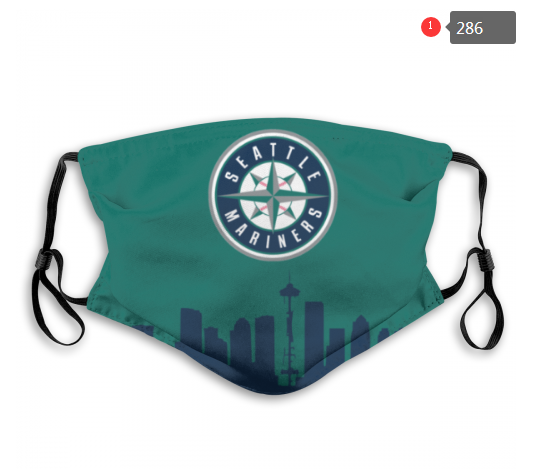 Seattle Mariners Face Mask 004 Filter Pm2.5 (Pls check description for details)