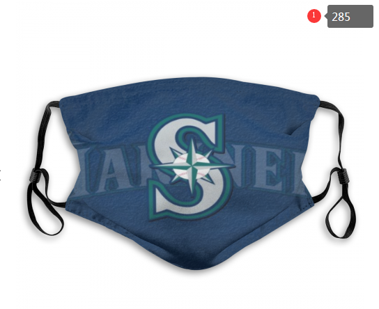 Seattle Mariners Face Mask 005 Filter Pm2.5 (Pls check description for details)