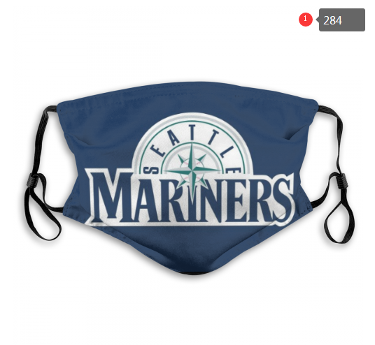 Seattle Mariners Face Mask 006 Filter Pm2.5 (Pls check description for details)
