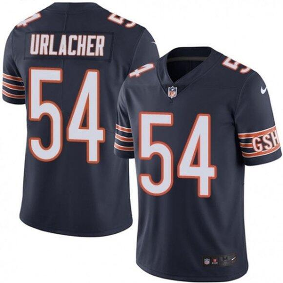 Men's Chicago Bears #54 Brian Urlacher Navy Vapor untouchable Limited Stitched Jersey