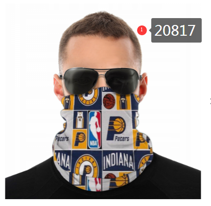 Indiana Pacers Variety Face Scarf 20817(Pls check description for details)