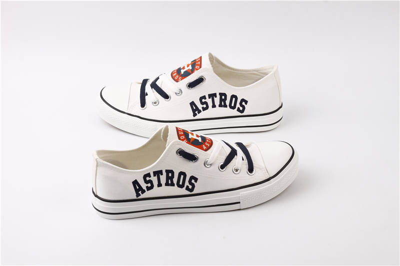 Women's Houston Astros Repeat Print Low Top Sneakers 003