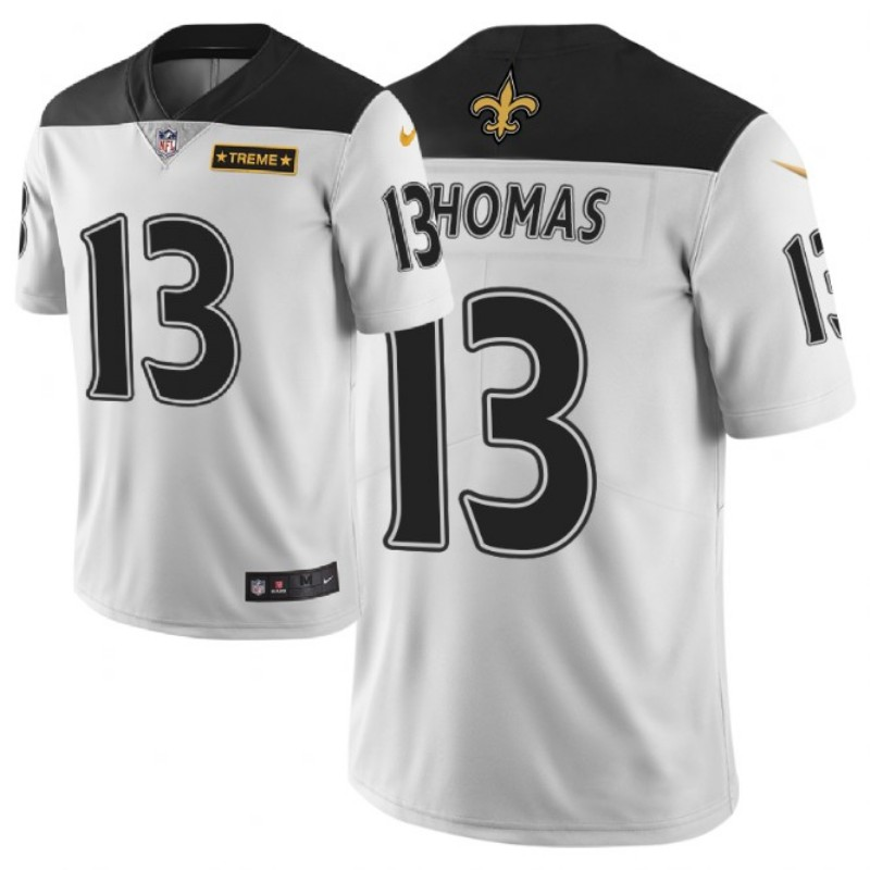 Men's New Orleans Saints #13 Michael Thomas White 2019 City Edition Limited Stitched NFL Jersey