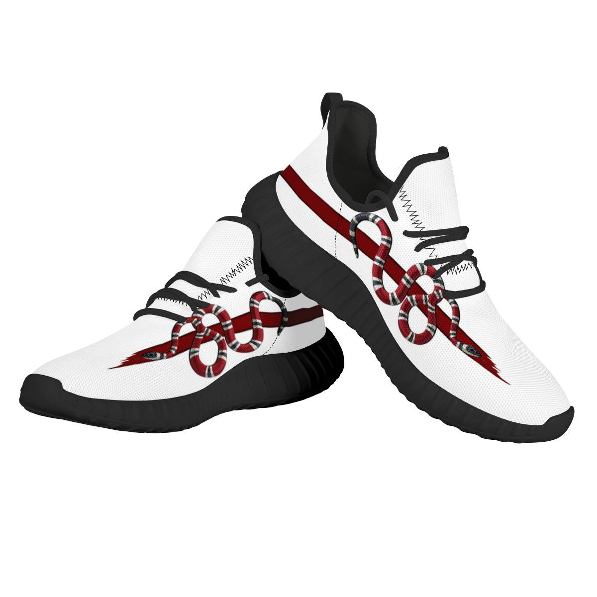 Men's Arizona Diamondbacks Mesh Knit Sneakers/Shoes 002
