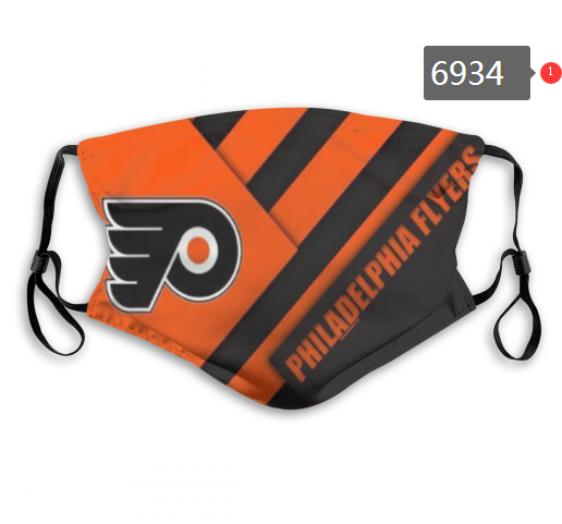 Philadelphia Flyers Face Mask 6934 Filter Pm2.5 (Pls check description for details)