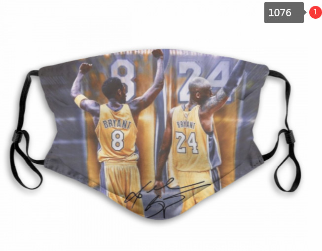 Los Angeles Lakers Face Mask 1076 (Pls check description for detailed info)