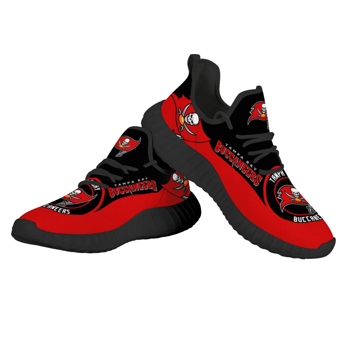 Women's NFL Tampa Bay Buccaneers Mesh Knit Sneakers/Shoes 001