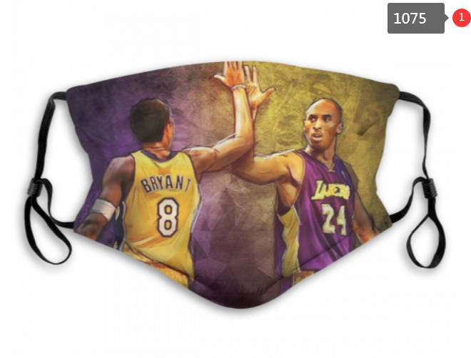Los Angeles Lakers Face Mask 1075 (Pls check description for detailed info)