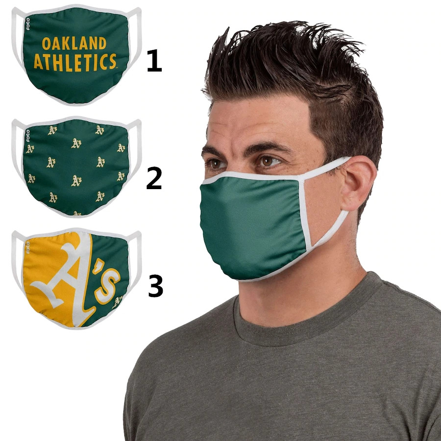 Oakland Athletics Sports Face Mask 001 Filter Pm2.5 (Pls check description for details)