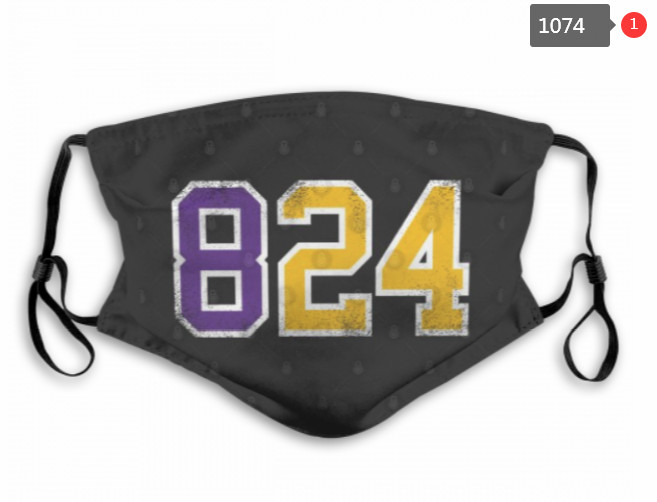 Los Angeles Lakers Face Mask 1074 (Pls check description for detailed info)