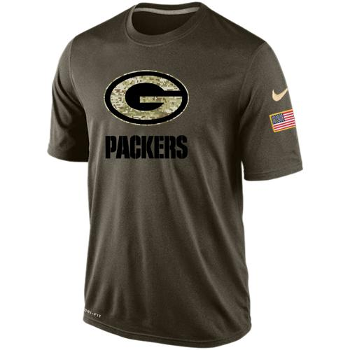 Men's Green Bay Packers Salute To Service Nike Dri-FIT T-Shirt