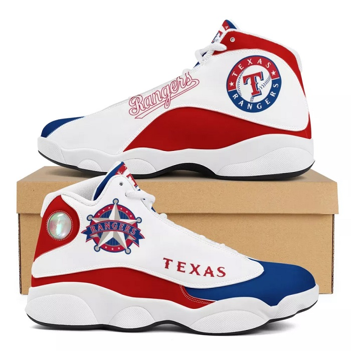 Men's Texas Rangers Limited Edition JD13 Sneakers 001