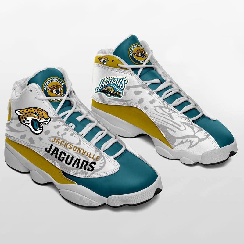 Women's Jacksonville Jaguars Limited Edition JD13 Sneakers 001