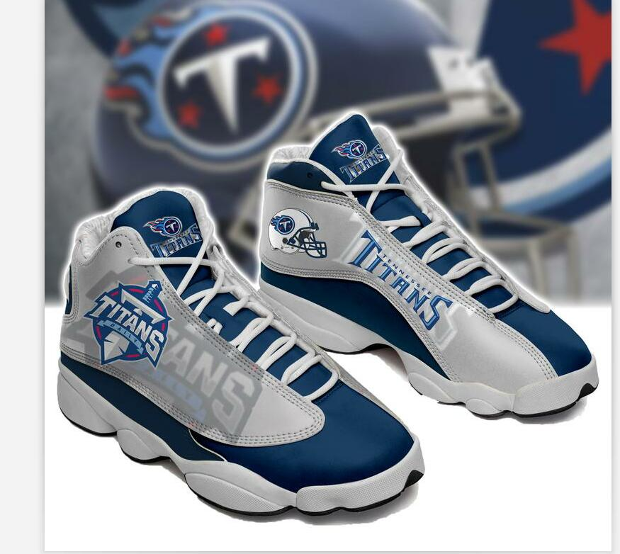 Men's Tennessee Titans Limited Edition JD13 Sneakers 004