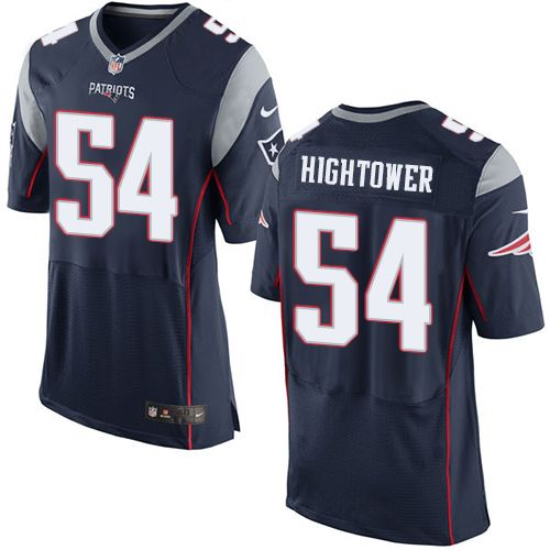 Nike Patriots #54 Dont'a Hightower Navy Blue Team Color Men's Stitched NFL New Elite Jersey