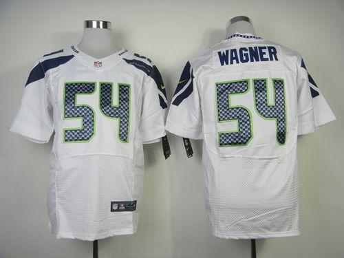 Nike Seahawks #54 Bobby Wagner White Men's Stitched NFL Elite Jersey