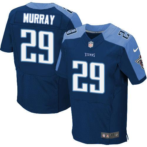 Nike Titans #29 DeMarco Murray Navy Blue Alternate Men's Stitched NFL Elite Jersey