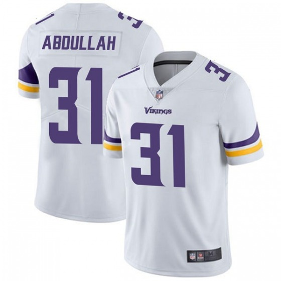 Men's Minnesota Vikings #31 Ameer Abdullah White Vapor Untouchable Limited Stitched Jersey