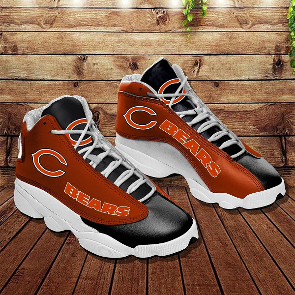 Men's Chicago Bears Limited Edition JD13 Sneakers 001