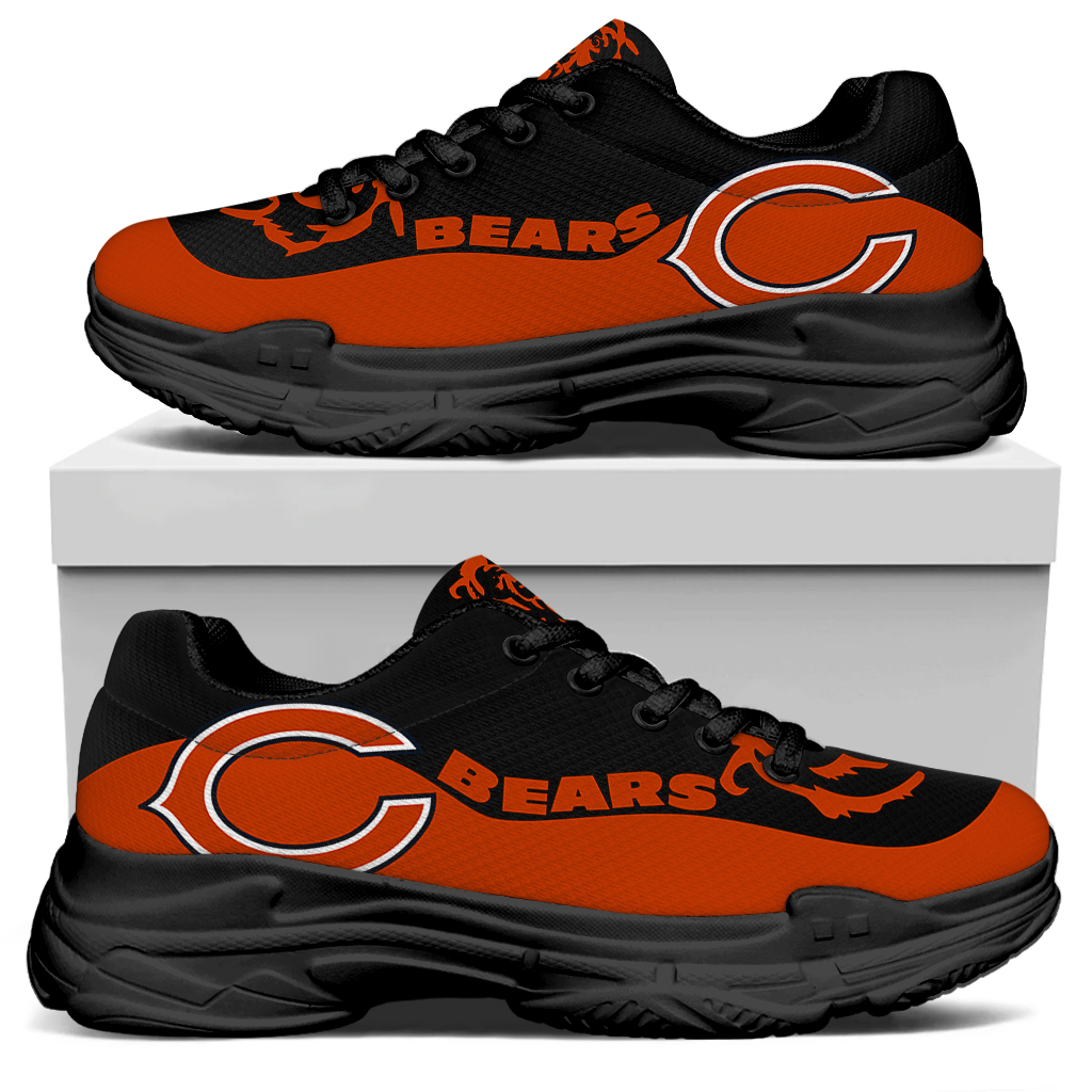 Men's Chicago Bears Edition Chunky Sneakers With Line 001
