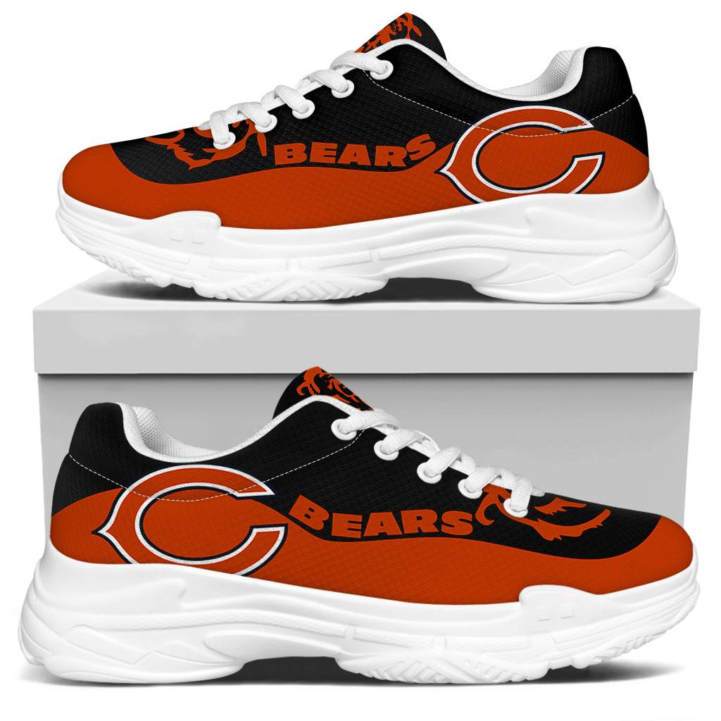 Men's Chicago Bears Edition Chunky Sneakers With Line 002