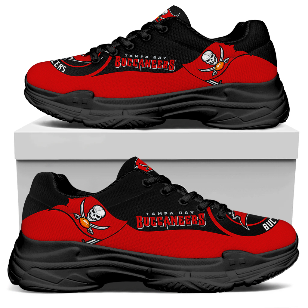 Men's Tampa Bay Buccaneers Edition Chunky Sneakers With Line 001