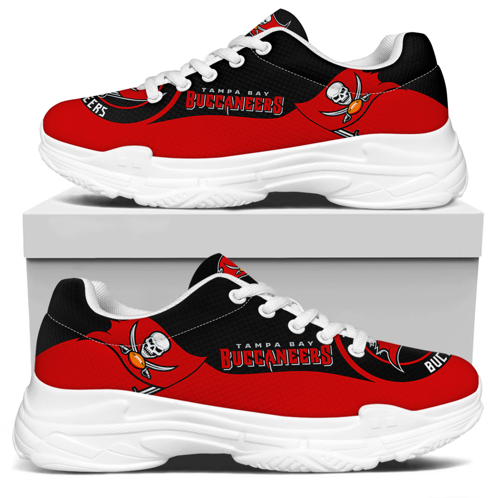 Men's Tampa Bay Buccaneers Edition Chunky Sneakers With Line 002