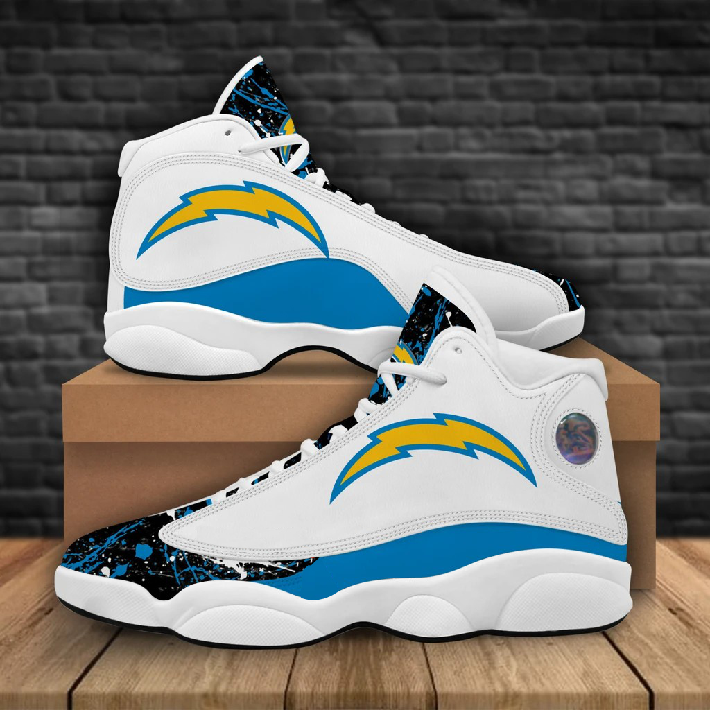 Women's Los Angeles Chargers Limited Edition JD13 Sneakers 001