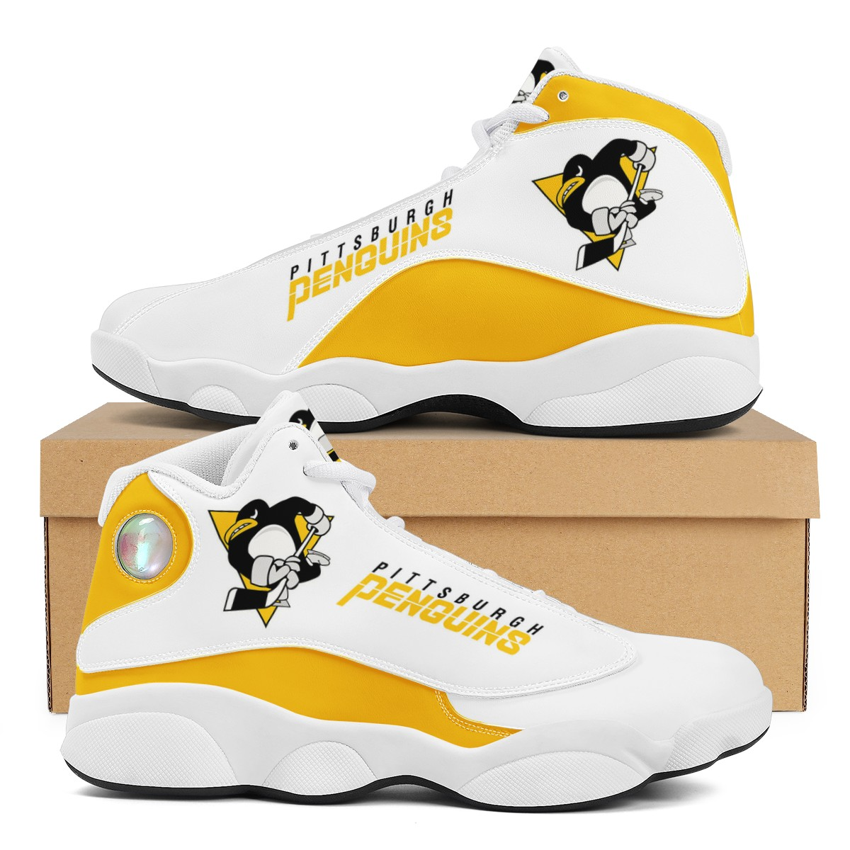 Women's Pittsburgh Penguins Limited Edition JD13 Sneakers 002
