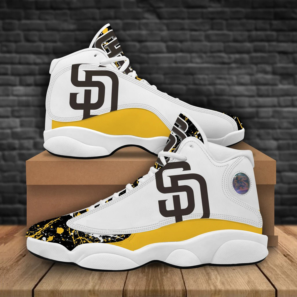 Men's San Diego Padres Limited Edition JD13 Sneakers 001