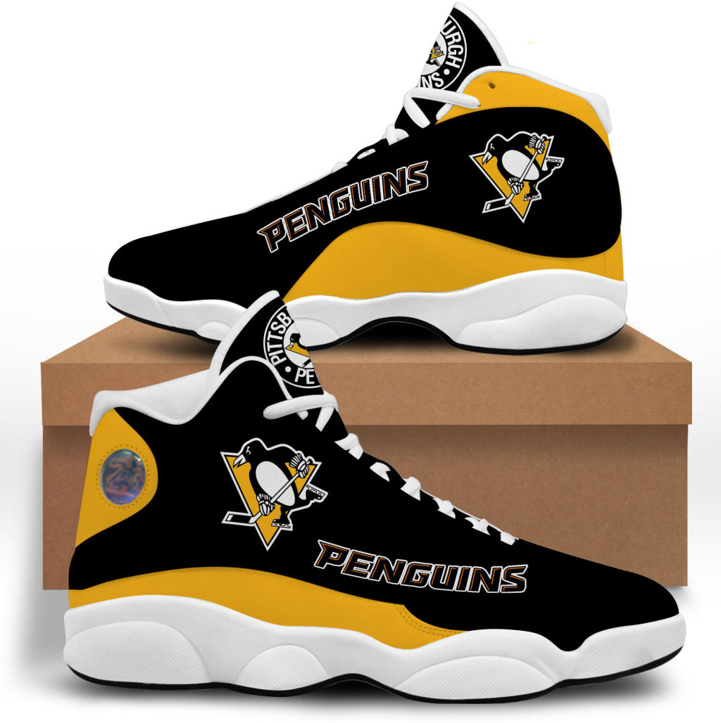 Women's Pittsburgh Penguins Limited Edition JD13 Sneakers 001