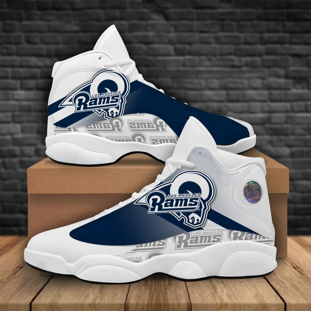 Men's Los Angeles Rams Limited Edition JD13 Sneakers 001