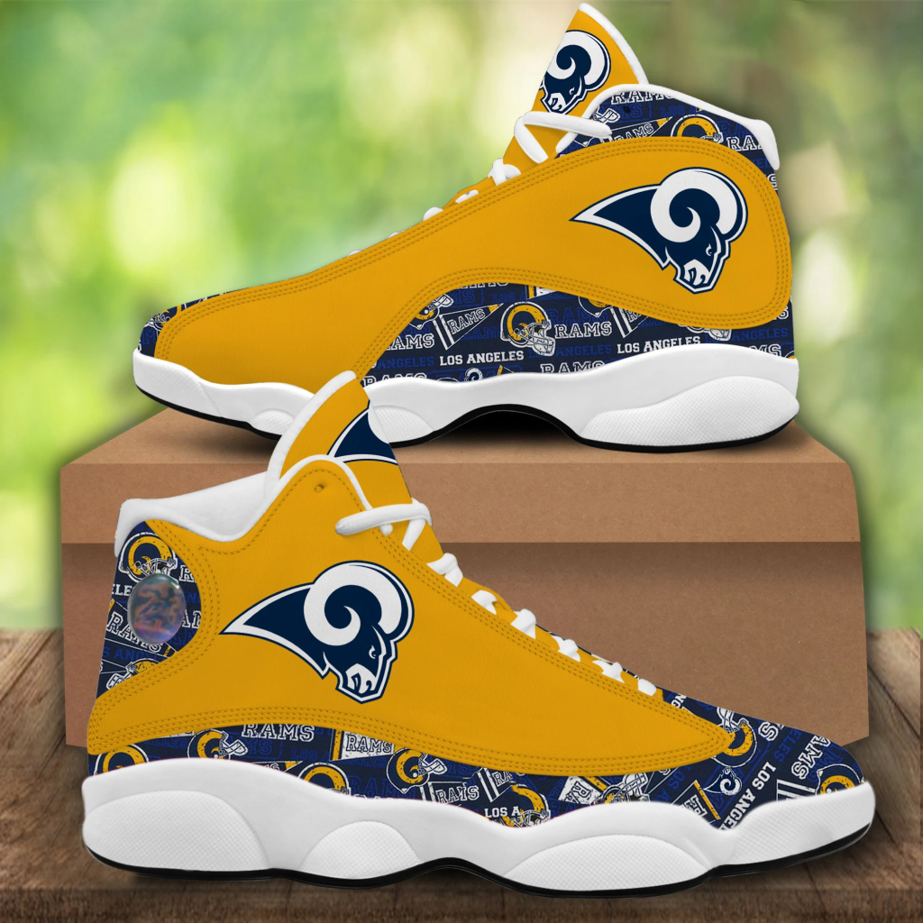 Men's Los Angeles Rams Limited Edition JD13 Sneakers 002