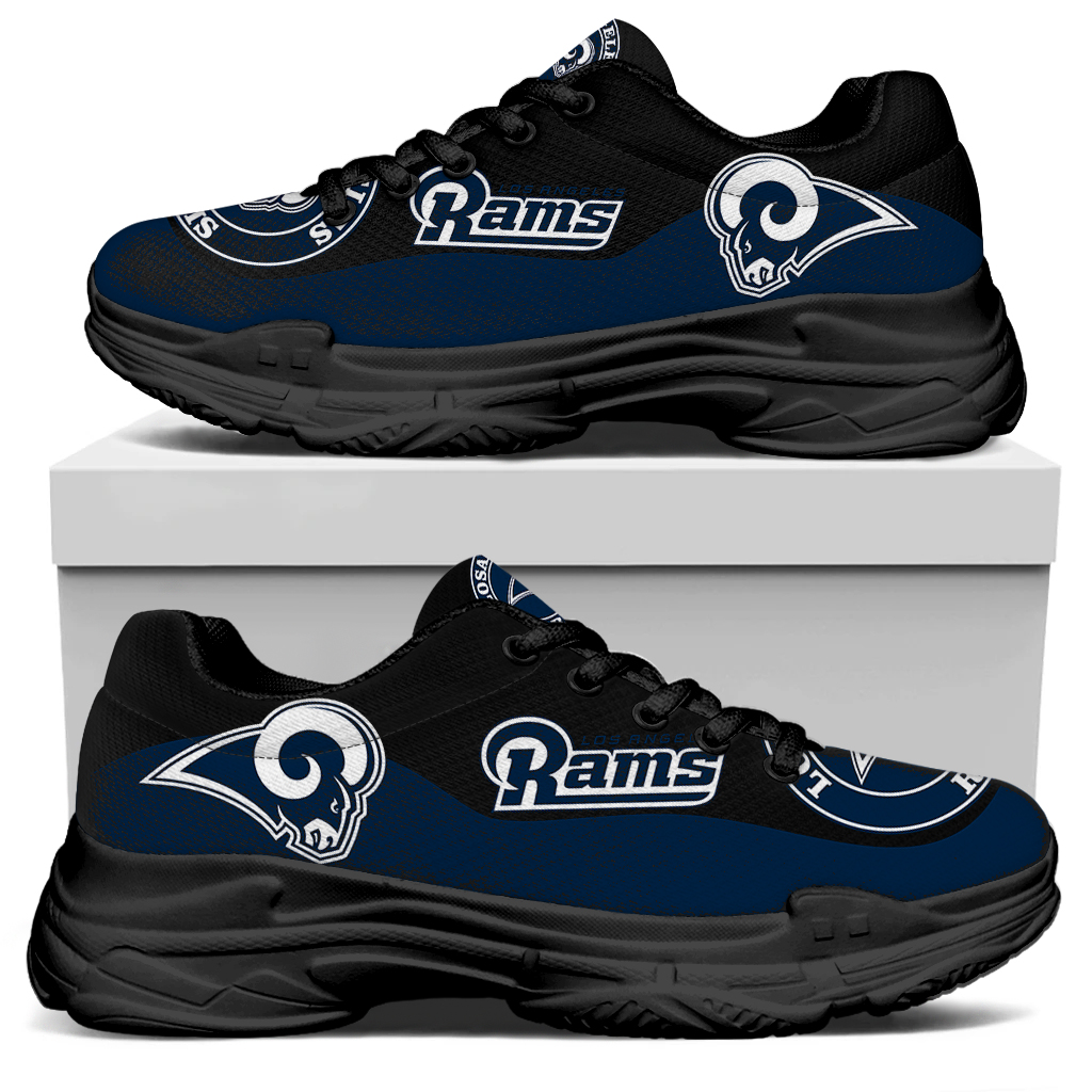 Men's Los Angeles Rams Edition Chunky Sneakers With Line 001