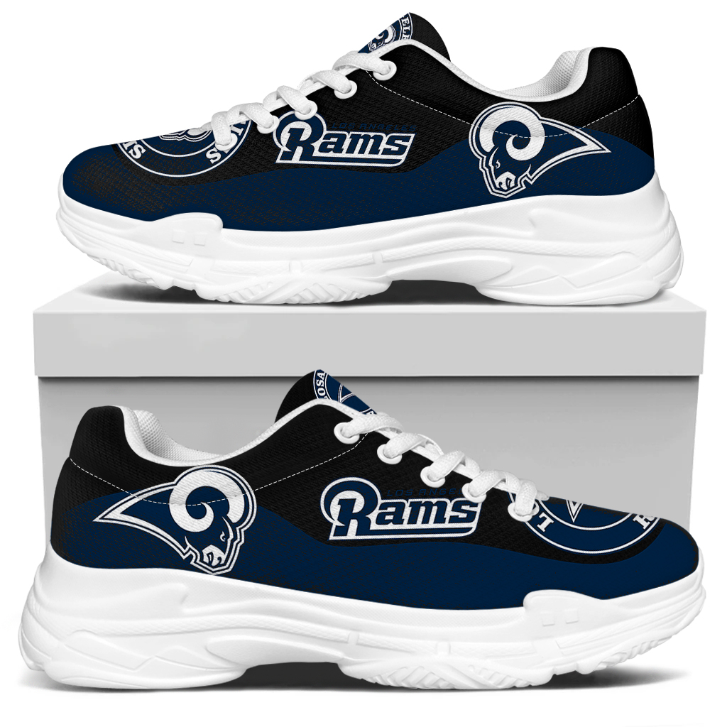 Men's Los Angeles Rams Edition Chunky Sneakers With Line 002